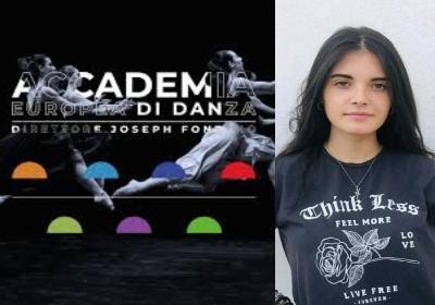 Danza. La Belvederese Gabriela Martucci approda all'Accademia Europea di Danza Joseph Fontano