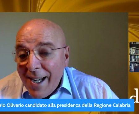 Intervista a Mario Oliverio candidato alla Presidenza della Regione Calabria