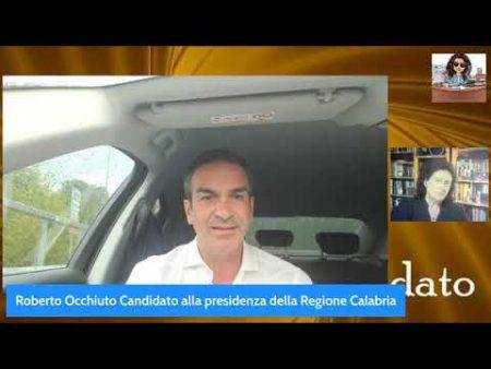 Intervista a Roberto Occhiuto candidato alla Presidenza della Regione Calabria