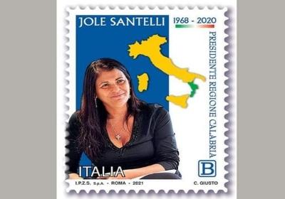 Poste Italiane ricorda Jole Santelli con un francobollo commemorativo